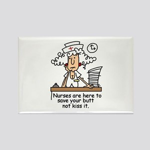 Funny Nurse Six Rectangle Magnet