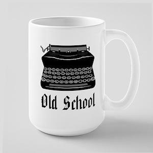 OLD SCHOOL 2 Large Mug