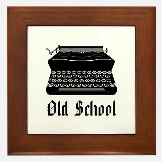OLD SCHOOL 2 Framed Tile