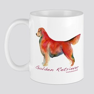 Golden Retriever in color Mug