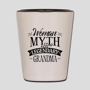 Legendary Grandma Shot Glass