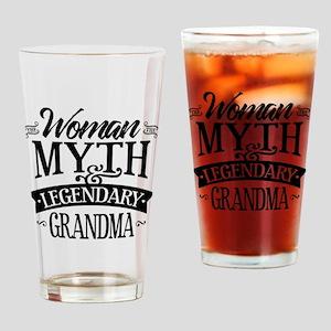 Legendary Grandma Drinking Glass