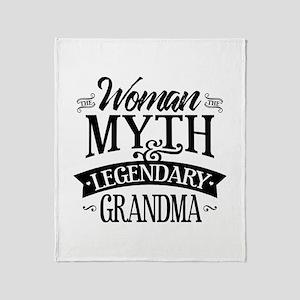 Legendary Grandma Throw Blanket