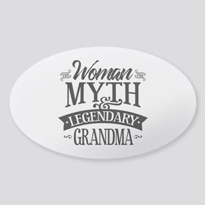 Legendary Grandma Sticker (Oval)