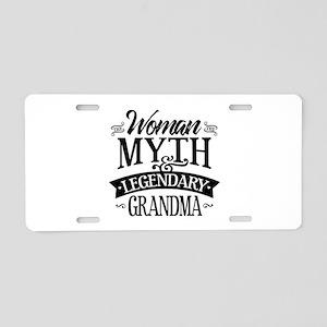 Legendary Grandma Aluminum License Plate