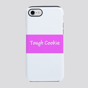 Tough Cookie Breast Cancer Pin iPhone 7 Tough Case