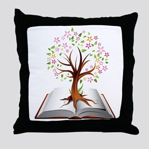 Reading is Knowledge Throw Pillow