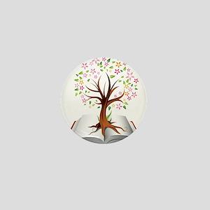 Reading is Knowledge Mini Button