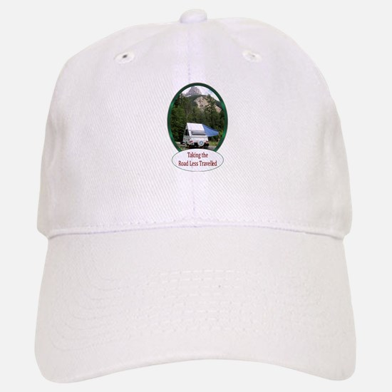 Camping Baseball Baseball Cap