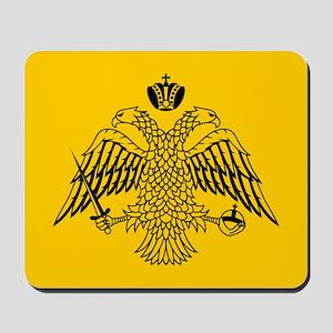 Greek Orthodox Church Flag Mousepad
