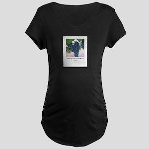 Napa Valley California Maternity Dark T-Shirt
