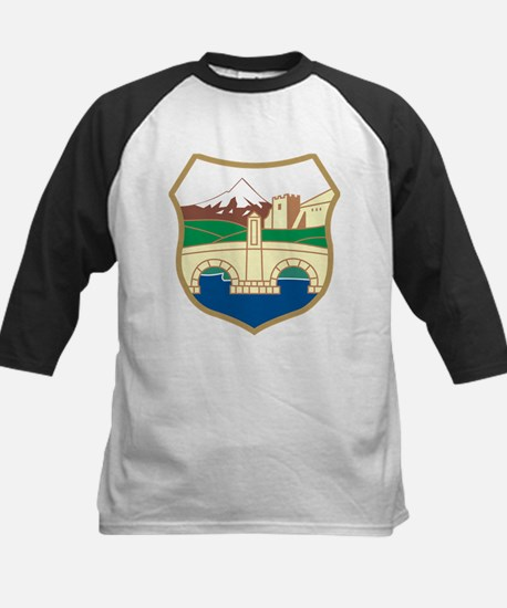 Skopje Coat of Arms Kids Baseball Jersey