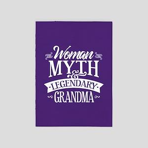 Legendary Grandma 5'x7'Area Rug