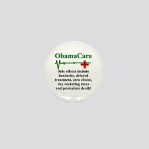 ObamaCare - Side Effects Mini Button