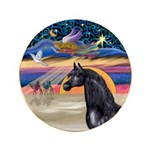 xmas Star / Arabian Horse (black) 3.5