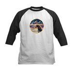 xmas Star / Arabian Horse (black) Kids Baseball Je
