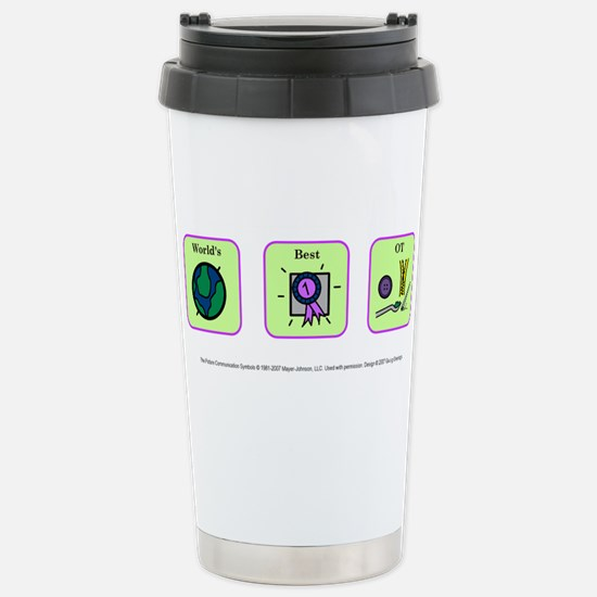 Cute Occupational therapy and autism Travel Mug