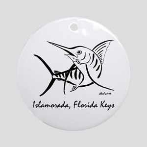 Marlin Ornament (Round)