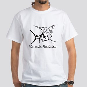 Marlin White T-Shirt