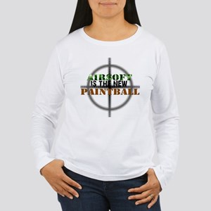 Airsoft is the new Paintball Women's Long Sleeve T