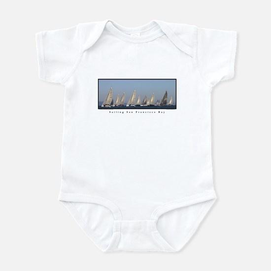 Sailing SF Bay Infant Bodysuit