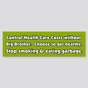 Big Brother Health Care Bumper Sticker