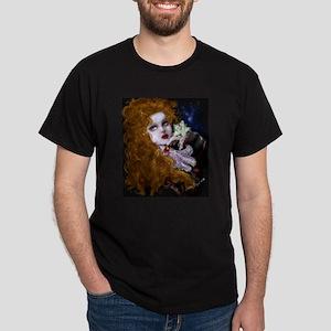 Gardenia Black T-Shirt