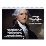 Politics: American Presidents Wall Calendar