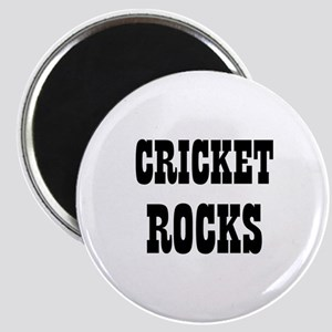 "CRICKET ROCKS 2.25"" Magnet (10 pack)"
