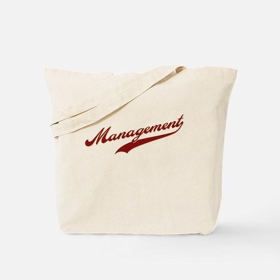 Management (swoosh) Tote Bag