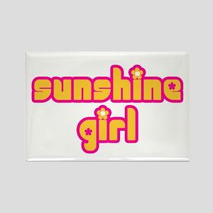 Sunshine Girl Rectangle Magnet