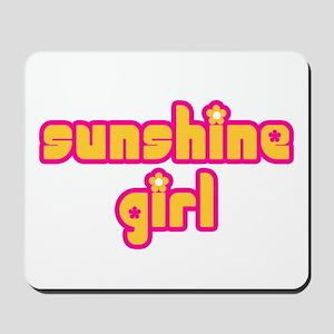 Sunshine Girl Mousepad