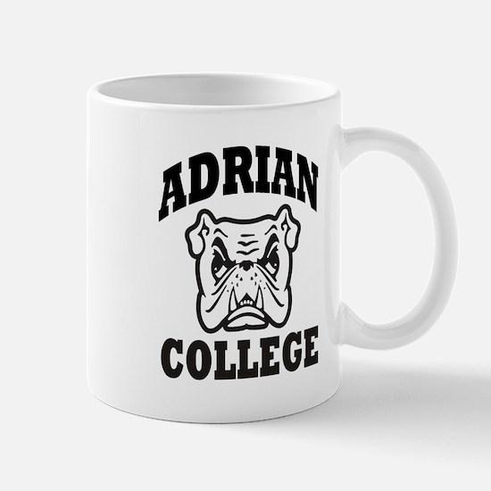 adrian college bulldog wear Mug