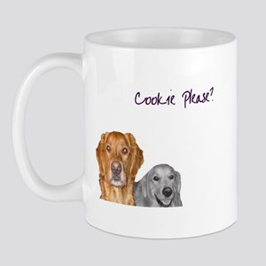 Cookie Please - White Mugs