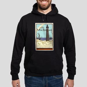 Travel Michigan Hoodie (dark)