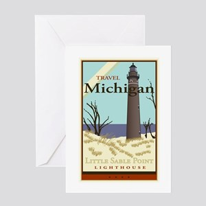 Travel Michigan Greeting Card