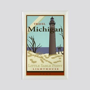 Travel Michigan Rectangle Magnet