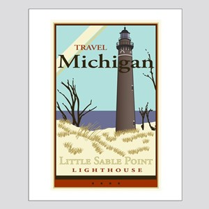 Travel Michigan Small Poster