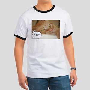 Orange Tabby Cat Ringer T