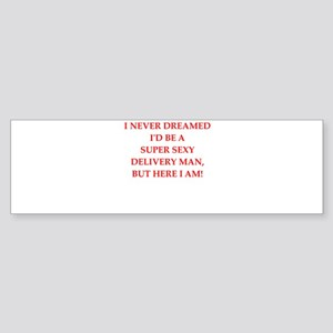delivery Bumper Sticker
