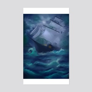 Ship Wreck Rectangle Sticker