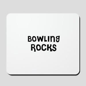 BOWLING ROCKS Mousepad