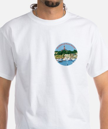 Marblehead Massachusetts White T-Shirt