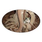 Abby's Tree Sticker (Oval)