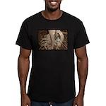 Abby's Tree Men's Fitted T-Shirt (dark)