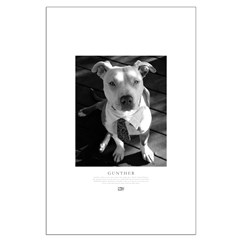Gunther Black & White Posters
