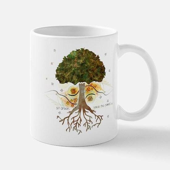 Go Green Tree Mug