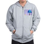 Syd and the Blueberry Tree Zip Hoodie