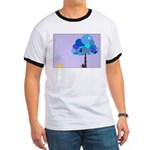 Syd and the Blueberry Tree Ringer T