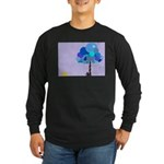 Syd and the Blueberry Tree Long Sleeve Dark T-Shir